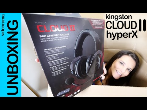 Kingston Cloud II HyperX unboxing en español