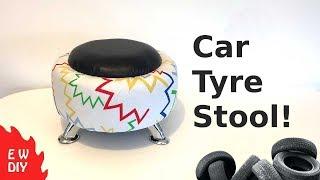 Car Tyre Stool