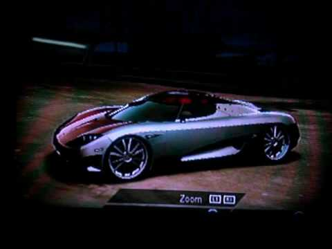 NFS Undercover- tuned career cars (ps2) - YouTube