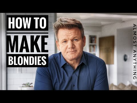 Unseen Blondies And Brownies Recipes By Gordon Ramsay | Almost Anything