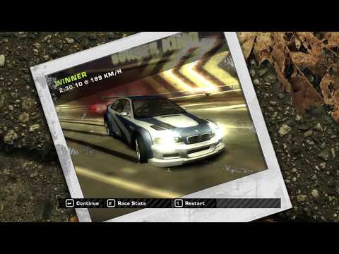 Need For Speed Most Wanted 2005 Burger King Race Challenge