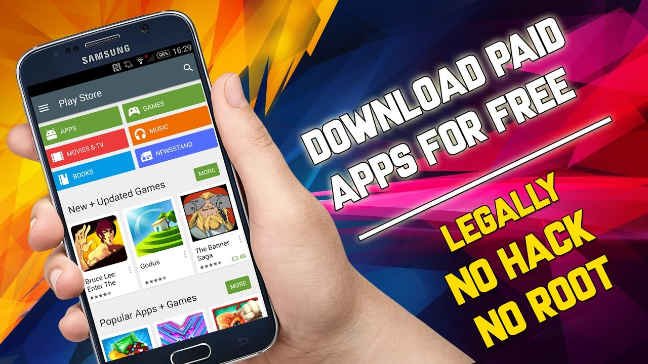 Download Paid GAMES and Paid APPS for FREE from GOOGLE PLAY STORE  NO ROOT