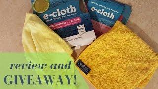 Testing the E-Cloth bathroom pack!