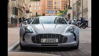 Supercars in Monaco in a day | Veyron, One-77 & More!!!