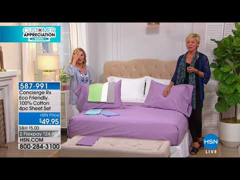 HSN | Concierge Collection Bedding 04.18.2018 - 04 PM