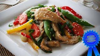 Low Carb Chicken Stir Fry Contest Winning Recipe