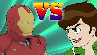 Ben 10 vs Iron man