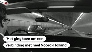 IJTUNNEL: 50 jaar geleden werd de verbinding naar Amsterdam-Noord geopend