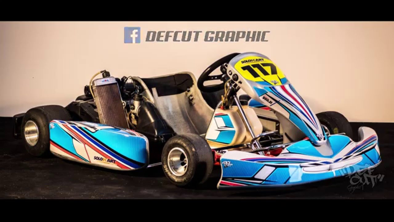 R alisation kit deco karting youtube for Deco karting