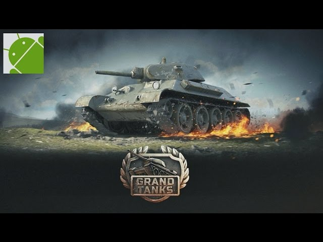 Grand Tanks Tank Shooter Game - Android Gameplay HD
