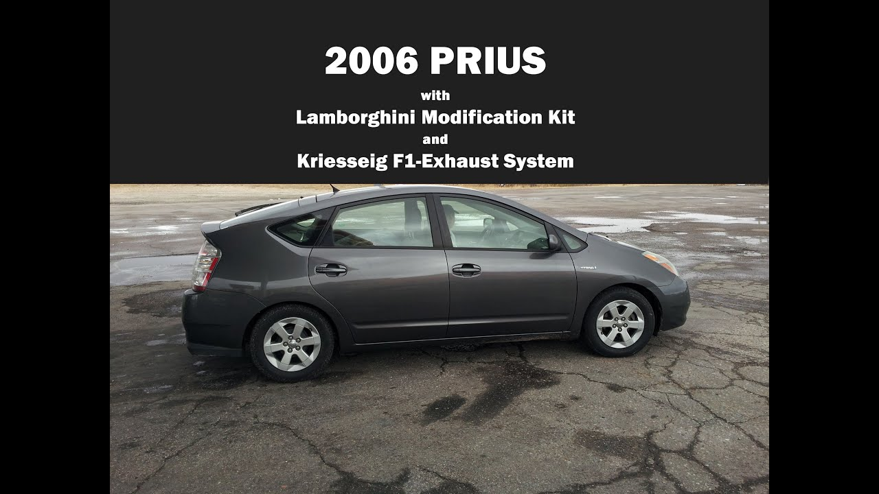 2006 Prius With Lamborghini Modification Kit And Kriesseig