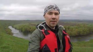 Одиночный сплав по реке Зуша. Поход, рыбалка. Апрель 2016.