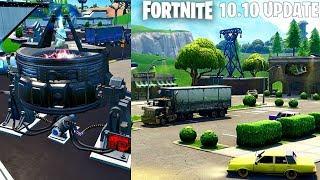 Fortnite New 10.10 Update: Retail Row Returns Gameplay! (Fortnite New Update)
