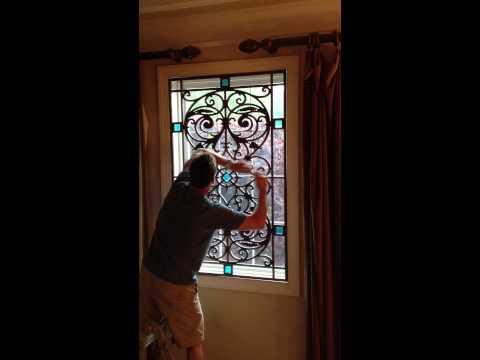 Fauxtastic Iron easy window install