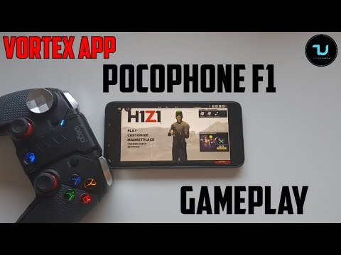 H1Z1 Android Gameplay With Vortex App Pocophone F1 Gaming Test/PC Games