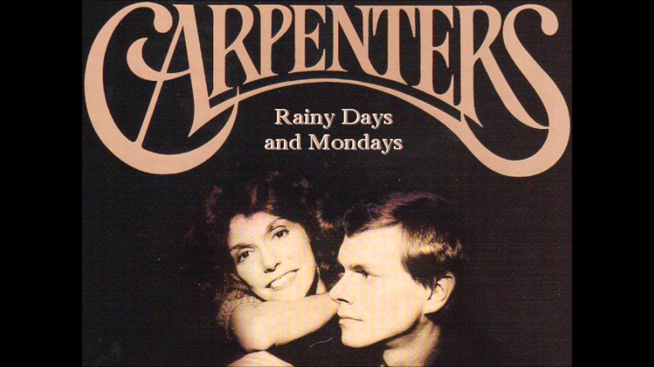 Image result for carpenters rainy days