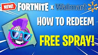 How to UNLOCK Walmart Boogie Spray for FREE! (Fortnite)