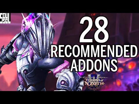 Recommended Addons For Patch 8.3 I'll Be Using!