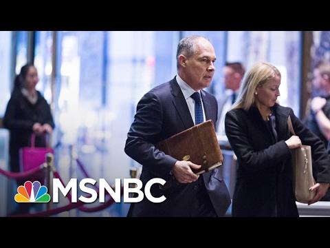 Senate Committee Approves President Trump's EPA Pick Scott Pruitt | MSNBC