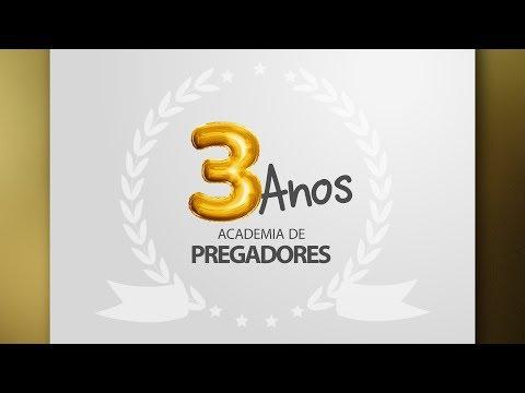 [Live] 3 Anos da Academia de Pregadores   Pr. Elizeu Rodrigues
