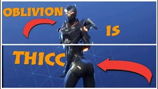 New oblivion Skin FORTNITE montage