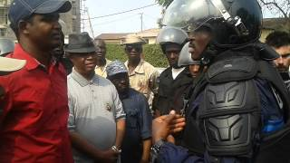 Manifestations à Conakry: Les confidences du Colonel Baffoé de la police nationale