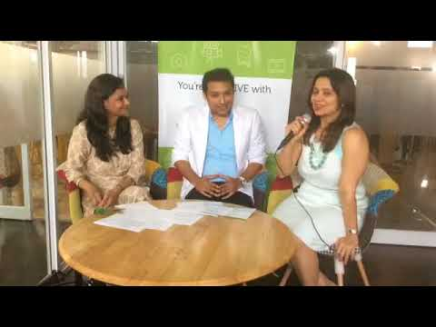 FB Live Chat @ R3 Roadshow Bangalore: Lavanya Nalli,Nalli Group and Gautam Shetty from JC Penney