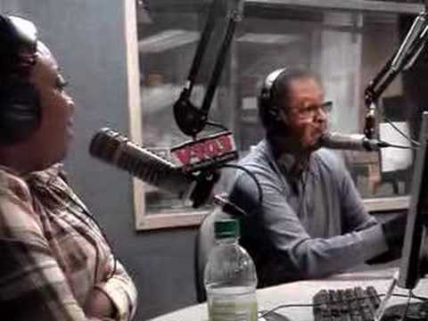 Frank Ski & Wanda interview Dr. Clarence B. Jones on V103