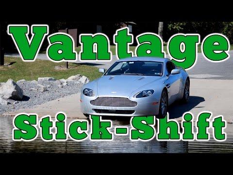 2007 Aston Martin V8 Vantage Manual: Regular Car Review