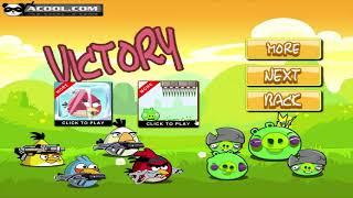 Angry Birds Ultimate Battle - MEET KING PIG! MATILDA BIRDS BOMB EXPLOSION