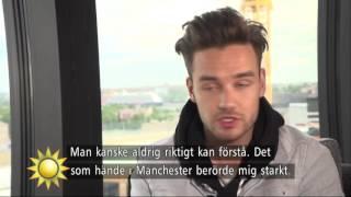 Intervjuspecial - Liam Payne från 1D till solokarriär - Nyhetsmorgon (TV4)