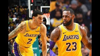 LeBron James and Lonzo Ball Record Triple-Doubles in the Same Game