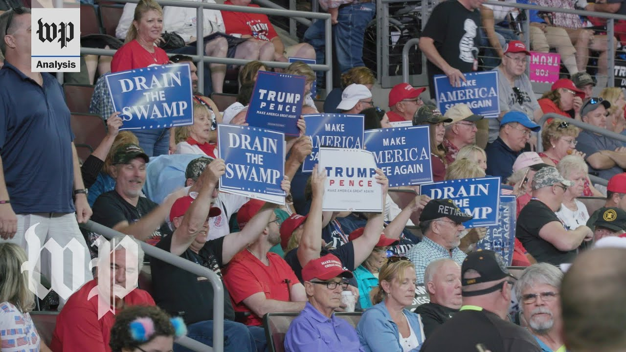 How Trump rallies are frozen in time