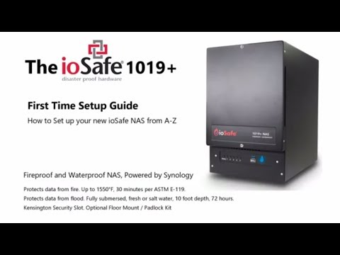 iosafe-nas-drive-first-time-setup
