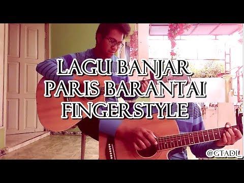 LAGU BANJAR PARIS BARANTAI | Fingerstyle Guitar Cover by Gusti adi