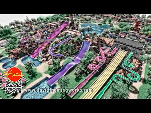 DAVID THEMING WORKS - AMUSEMENT PARK DESIGN PROJECTS COMPANY