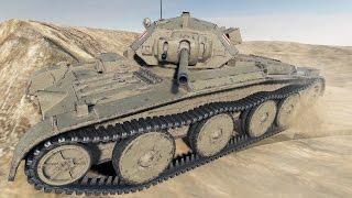WoT Covenanter | 4K video | Kolobanov's de Langlade's Pascucci's with derp gun - Sand River