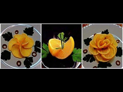 Generate 3 DELICIOUS LIFE HACKS HOW TO MAKE LEMON FLOWER & LEMON GARNISH & FRUIT CARVING - VEGETABLE  DESIGN Pics