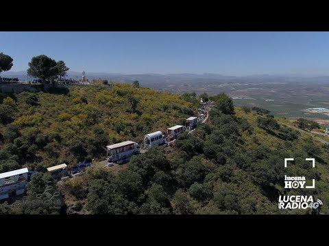VÍDEO: Una forma diferente de ver la Romería de Subida de la Virgen de Araceli: Desde el cielo