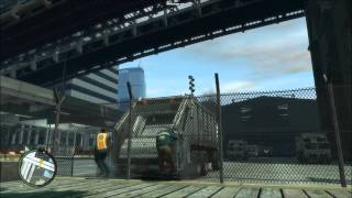 GTA IV - Garbage men breakdown
