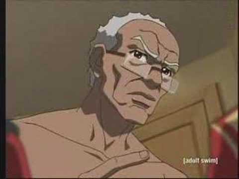 boondocks granddad internet dating