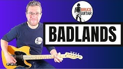 Badlands guitar lesson