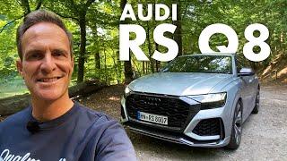 Audi RS Q8   Der SUV-Ballermann   Mit 600 PS über Autobahn + Heimstrecke.   Matthias Malmedie
