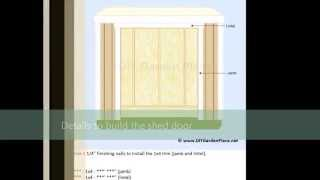 Build It Yourself 4x8 Lean To Shed Plans