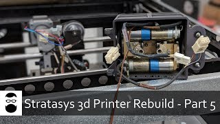 Stratasys 3D Printer Rebuild - Part 5: Tear-Down and Extruder Removal