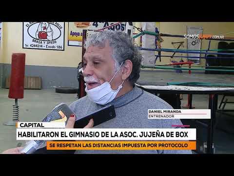 Habilitaron El Gimnasio De La Asoc  Jujeña De Box | Somos Jujuy