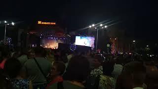 ВИА Синяя птица выступает на Дне города в Рязани