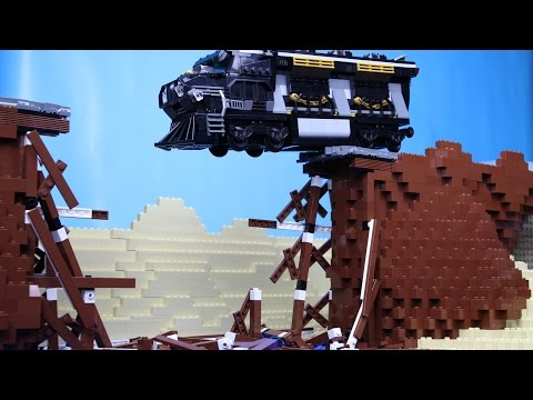 Lego Train Crash