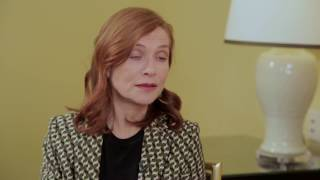 Isabelle Huppert: Acting is improvisation