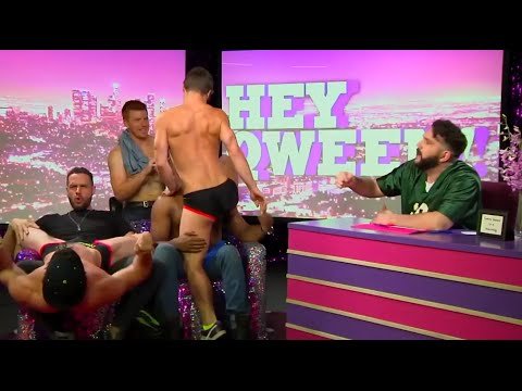 Hey Qween! BONUS: The Pit Crew Gets Naked For Double Lap Dances | Hey Qween from YouTube · Duration:  2 minutes 32 seconds